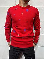 Мужской джемпер 2Y Premium 7040 red, фото 1