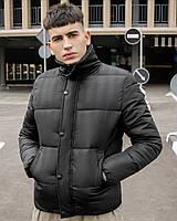 Мужская водоотталкивающая зимняя куртка
