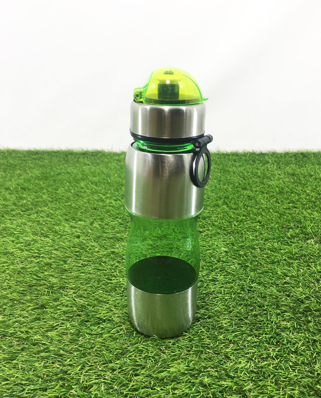 Бутылка пластик+алюминий 0,75л.