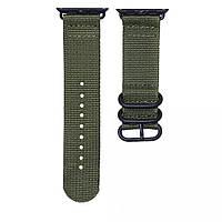 """Ремінець """"Buckle Nylon Bracelet"""" для Apple Watch 42 / 44mm Хакі"""