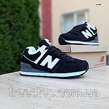 Жіночі зимові кросівки чорні 574