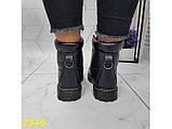 Ботинки зимние на массивной тракторной подошве 36, 41 р. (2346), фото 5
