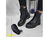 Ботинки зимние на массивной тракторной подошве 36, 41 р. (2346), фото 6