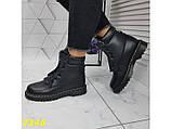 Ботинки зимние на массивной тракторной подошве 36, 41 р. (2346), фото 7