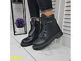 Ботинки зимние на массивной тракторной подошве 36, 41 р. (2346), фото 8
