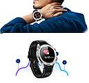 Умные часы No.1 DT28 Silicon с ЭКГ и пульсоксиметром Серебристый (swno1dt28silsil), фото 5