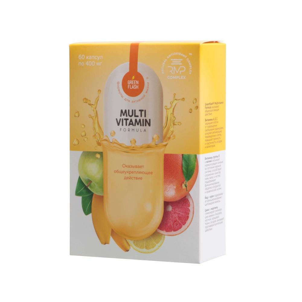 Multivitamin Formula - мультивитаминный комплекс для вашего здоровья, энергии и красоты 60 капс по 400 мг