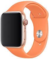 Ремінець Silicone для Apple Watch 38 / 40mm Papaya