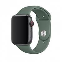 Ремінець Silicone для Apple Watch 38 / 40mm Pine Green