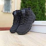 Чоловічі зимові кросівки Vibram чорні, фото 6