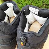 Чоловічі зимові кросівки Vibram чорні, фото 7