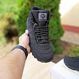 Чоловічі зимові кросівки Vibram чорні, фото 8
