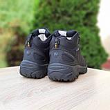 Чоловічі зимові кросівки Vibram чорні, фото 10