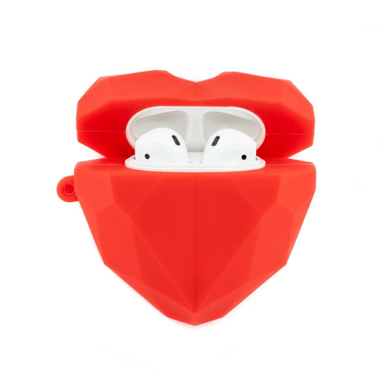 Чехлы для Airpods Сердце