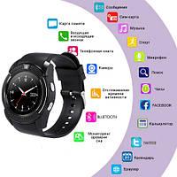 Смарт часы Smart часы V8+ камера, black