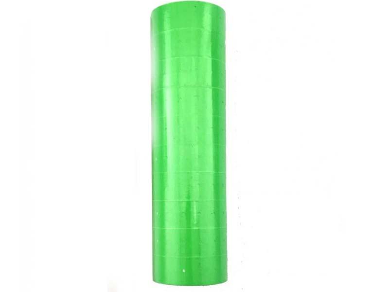 Ценник для этикет пистолета 21,4х12мм зеленый (10х800шт)