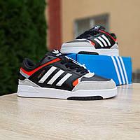Мужские зимние кроссовки в стиле Adidas Drop Step черные