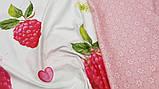 Постельное белье сатин Малиновый десерт, фото 2
