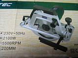 Пила дисковая Craft-tec CX-CS403В (2100 Вт) с переворотом, фото 2