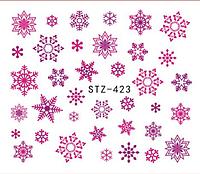 Слайдер водный для дизайна ногтей STZ- 423, фото 1