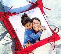 Подушка декоративная с Вашим фото, ткань габардин
