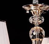 Светодиодная люстра классическая с LED рожками, фото 5