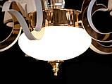 Светодиодная люстра классическая с LED рожками, фото 7