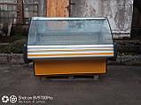 Вітрина холодильна Cold 1.6 м. бу. гастрономічна вітрина бу, фото 2