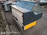 Вітрина холодильна Cold 1.6 м. бу. гастрономічна вітрина бу, фото 3