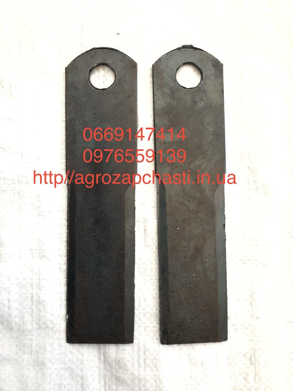 Нож измельчителя 210x50x3 d-18 ЕНИСЕЙ