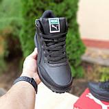 Чоловічі зимові кросівки Rider 020 чорні, фото 6