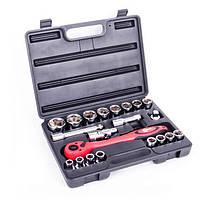 Профессиональный набор инструмента 21 ед. INTERTOOL ET-6021, фото 1