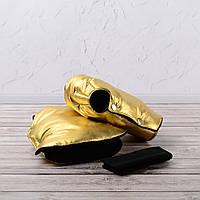 Муфта рукавички раздельные, на коляску / санки, универсальная, для рук (цвет - золотой)