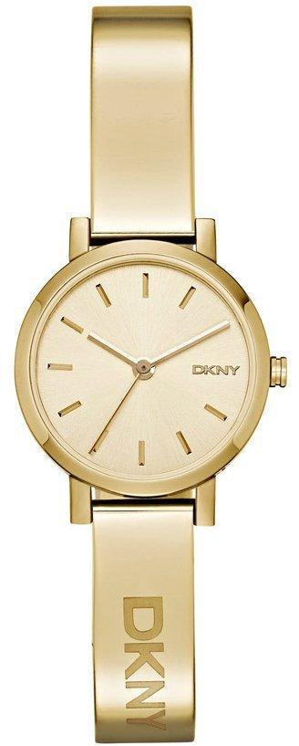 Часы наручные женские DKNY NY2307 кварцевые, сталь, цвет желтого золота, США