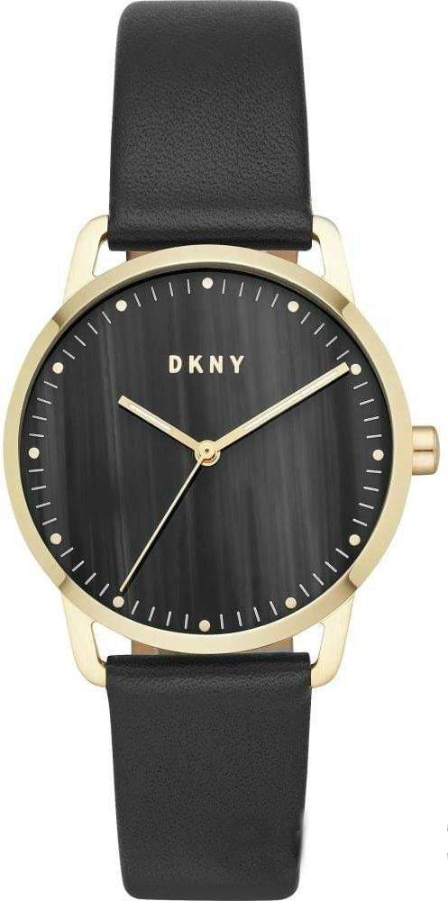 Часы наручные женские DKNY NY2759 кварцевые, сталь, ремешок из кожи, США