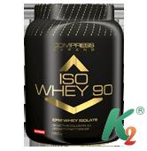 COMPRESS ISO WHEY 90 1000g клубника