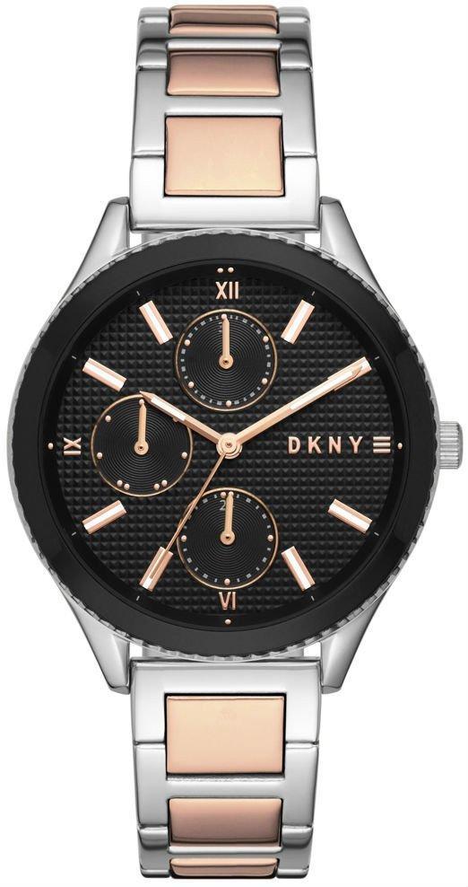 Часы наручные женские DKNY NY2659 кварцевые биколорные с датой и днем недели, США