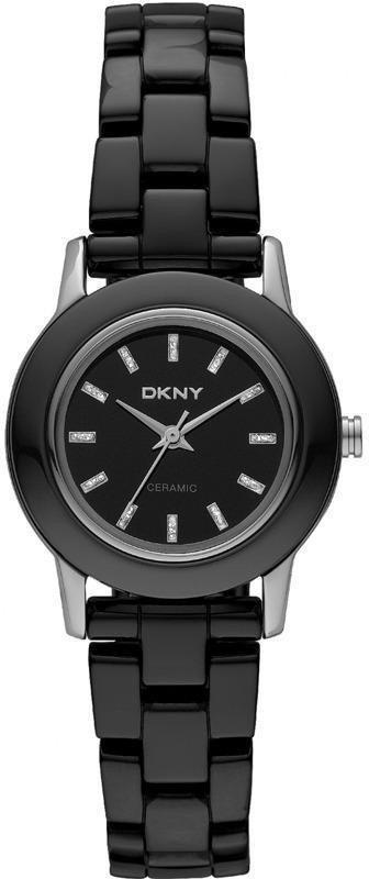 Часы наручные женские DKNY NY8296 кварцевые, сталь/керамика, черные, США