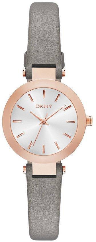 Часы наручные женские DKNY NY2408 кварцевые, ремешок из кожи, США