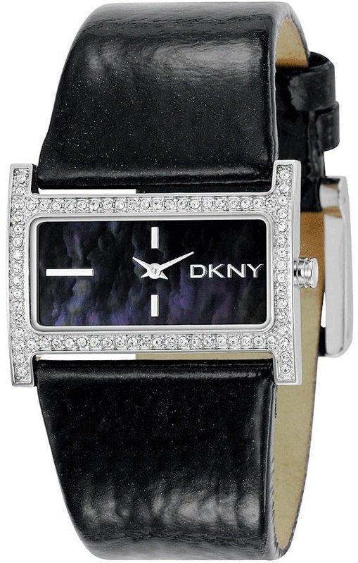 Часы наручные женские DKNY NY4821 кварцевые, ремешок из кожи, США