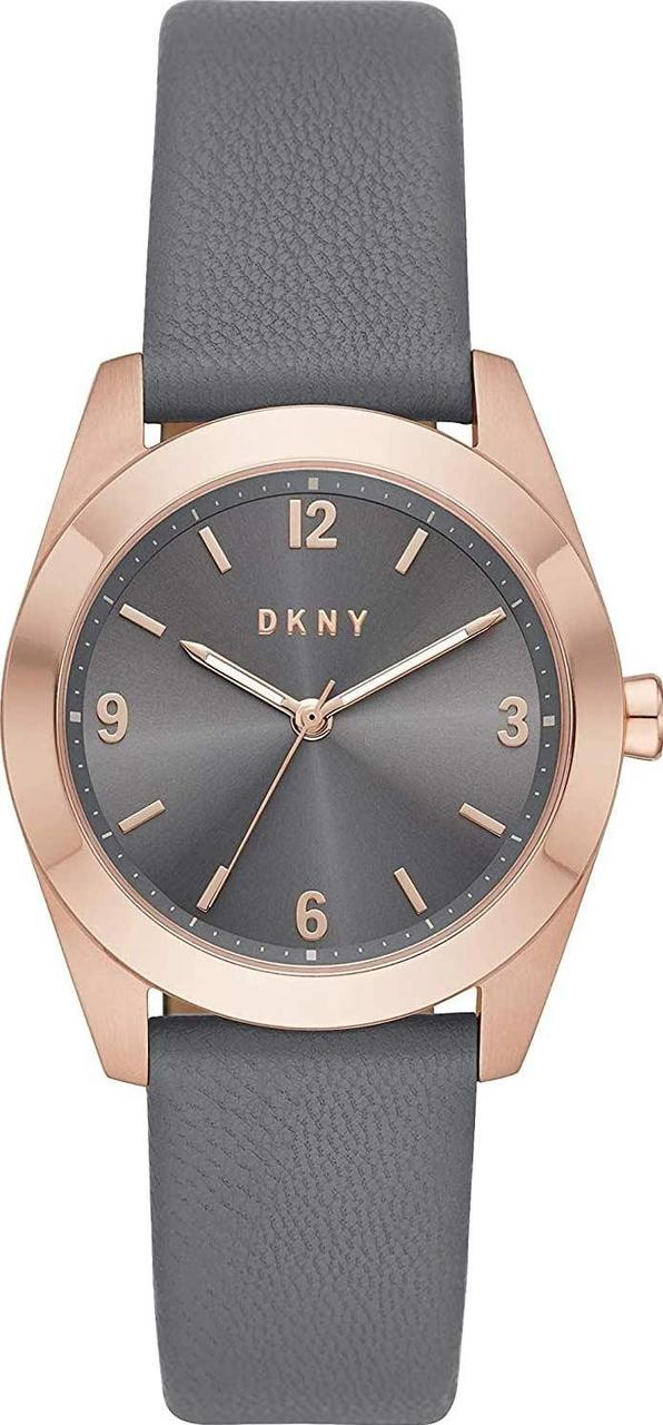 Часы наручные женские DKNY NY2878 кварцевые, ремешок из кожи, США