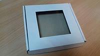 Коробка для пряников 20х20х3 см (с пленкой)