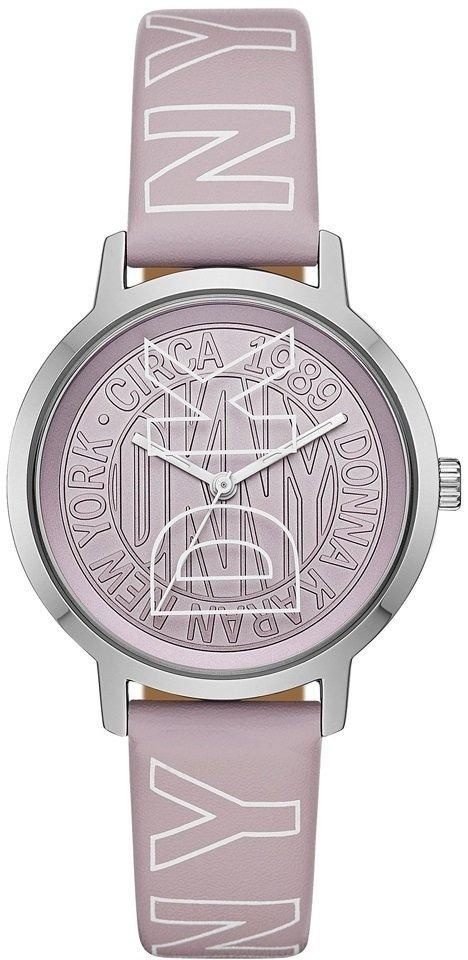Часы наручные женские DKNY NY2820 кварцевые, ремешок из кожи, США