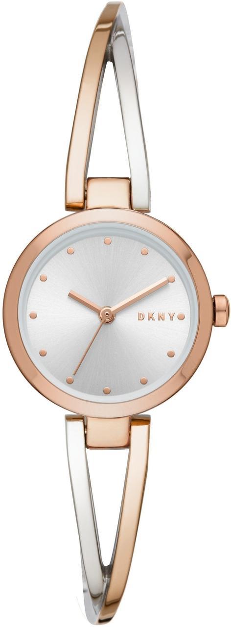 Часы наручные женские DKNY NY2791 кварцевые, цвет розового золота, США