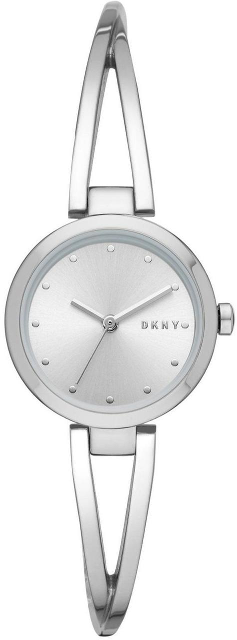 Часы наручные женские DKNY NY2789 кварцевые, на браслете, серебристые, США