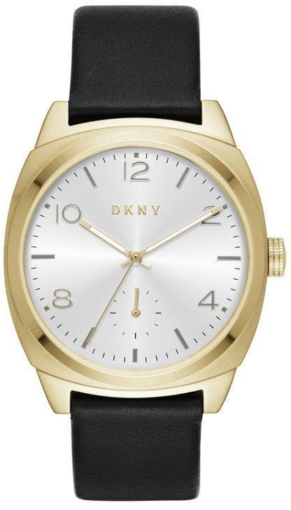 Часы наручные женские DKNY NY2537 кварцевые, кожаный ремешок, США