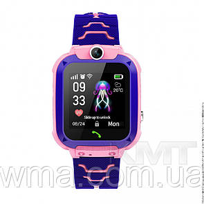 Smart Baby Watch Q20 Waterproof с GPS трекером 4G  — Pink