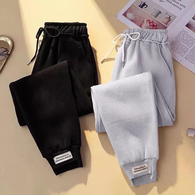 Женские штаны, трехнить на флисе, р-р 42-44; 46-48; 50-52 (чёрный)