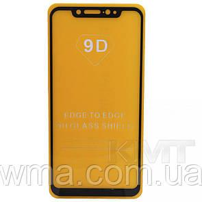Защитное Стекло Full Glue 9D — Xiaomi Mi 8 — Black
