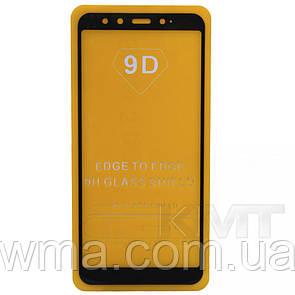 Защитное Стекло Full Glue 9D — Xiaomi Mi A2 — Black